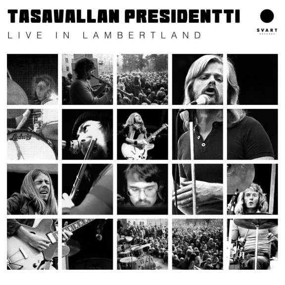 Tasavallan Presidentti Live in Lambertland (Gold) LP 2019