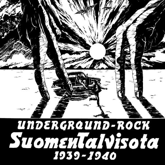 Suomen Talvisota 1939-1940 Underground-Rock LP 2019