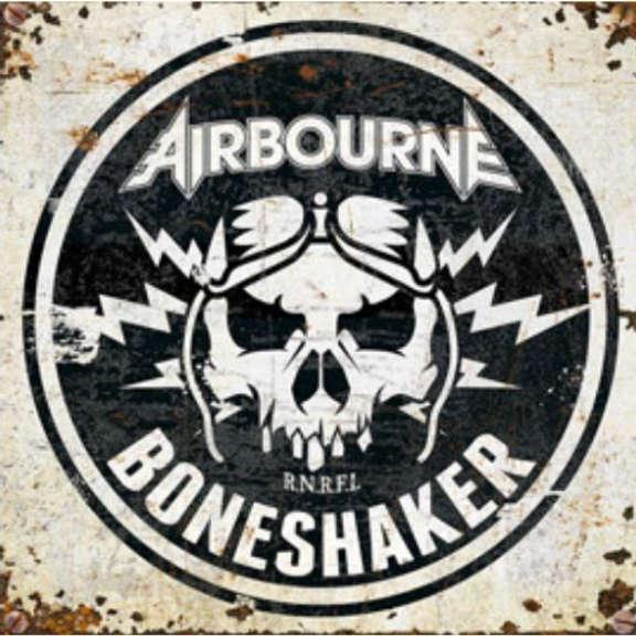 Airbourne Boneshaker Oheistarvikkeet 2019