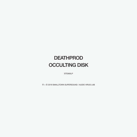 Deathprod Occulting disk   LP 2019