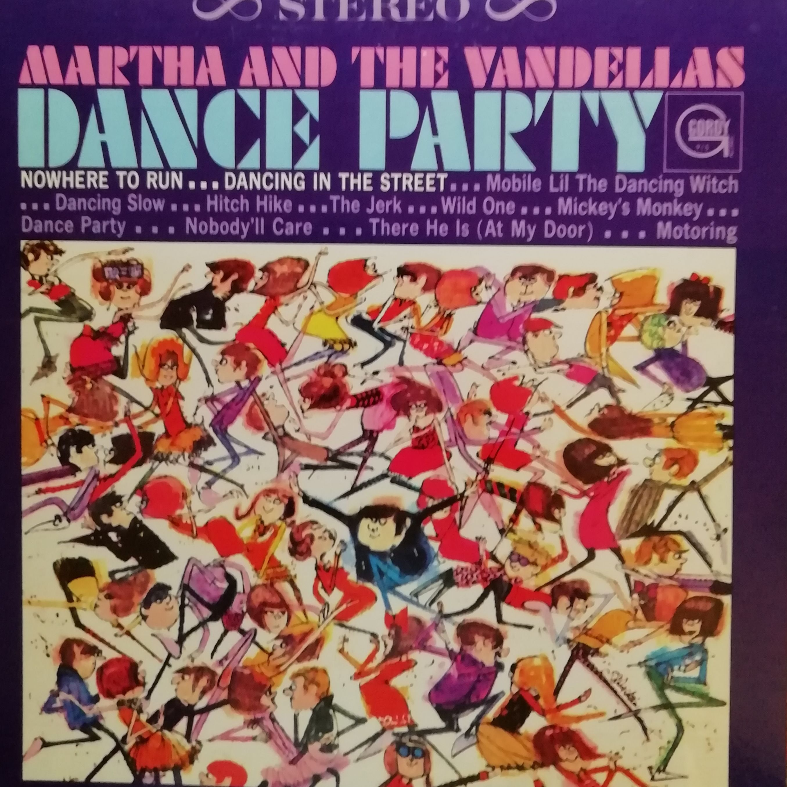 Martha And The Vandellas Dance Party LP undefined
