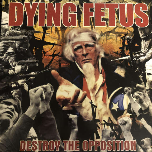 Dying Fetus Destroy The Opposition LP 2000