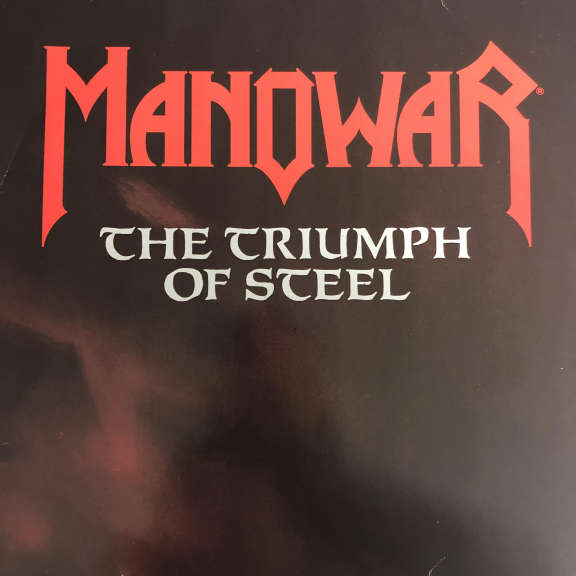 Manowar The Triumph Of Steel LP 1992