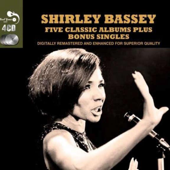 Shirley Bassey Five Classic Albums Plus Bonus Singles Oheistarvikkeet 2019