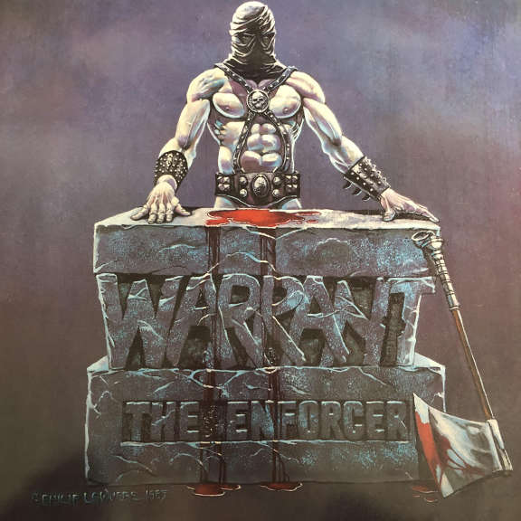 Warrant The Enforcer   LP 1985