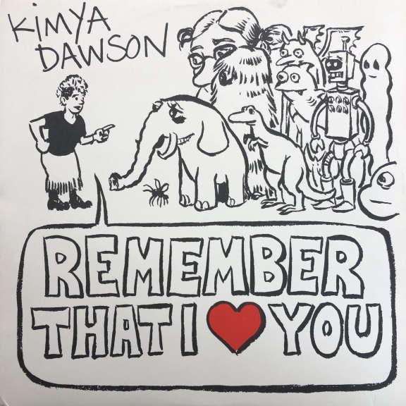 Kimya Dawson Remember That I Love You LP 2006