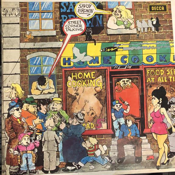 Savoy Brown Street Corner Talking  LP 1971