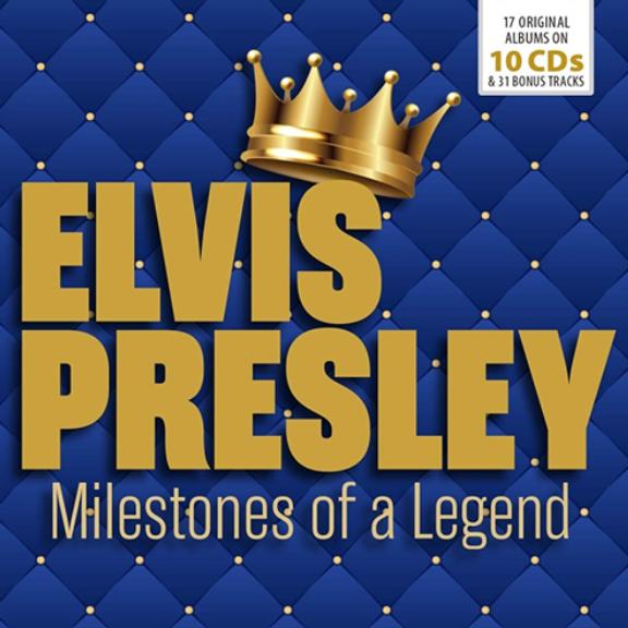 Elvis Presley Milestones Of A Legend - Anniversary Oheistarvikkeet 2019