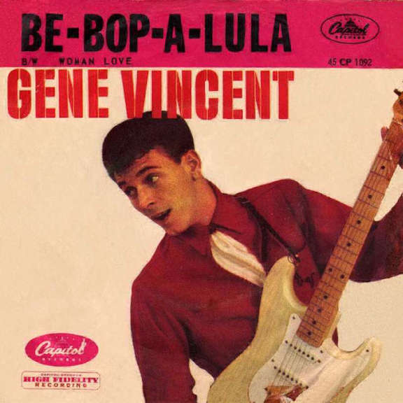 Gene Vincent Be-Bop-A-Lula (Coloured) LP 2019