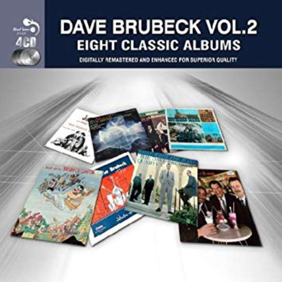 Dave Brubeck Eight Classic Albums Vol. 2 Oheistarvikkeet 2019