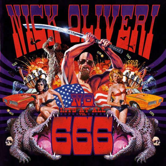 Nick Oliveri N.O Hits At All Vol. 666 (LTD.ED)  LP 2020