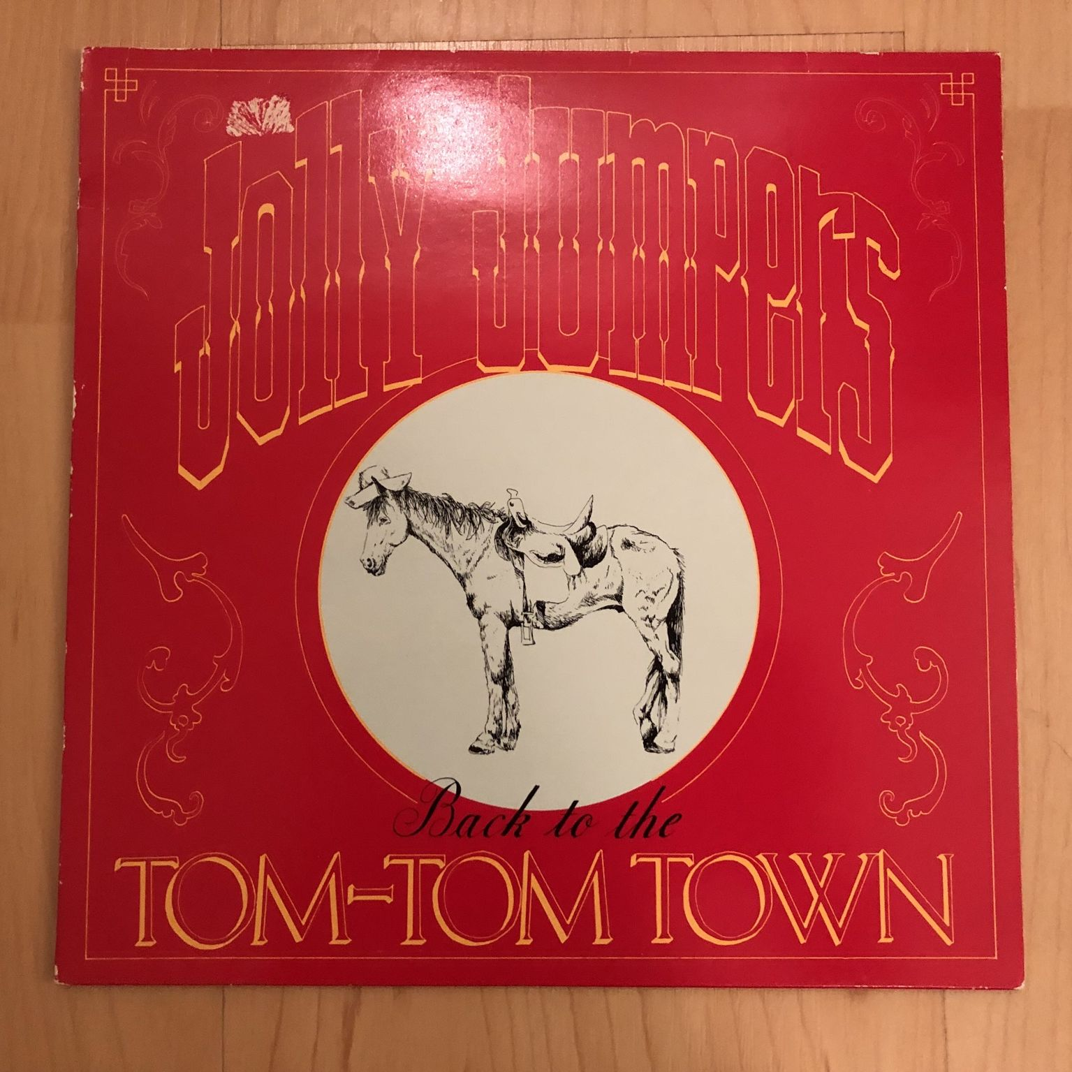 """Jolly Jumpers Back to the Tom-Tom Town 10"""" LP undefined"""
