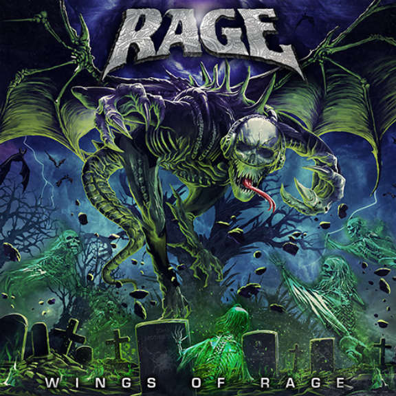Rage Wings of Rage  LP 2020