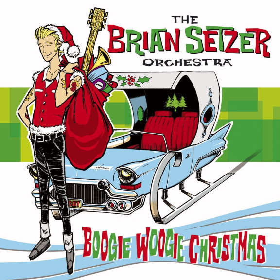 The Brian Setzer Orchestra Boogie Woogie Christmas LP 2019