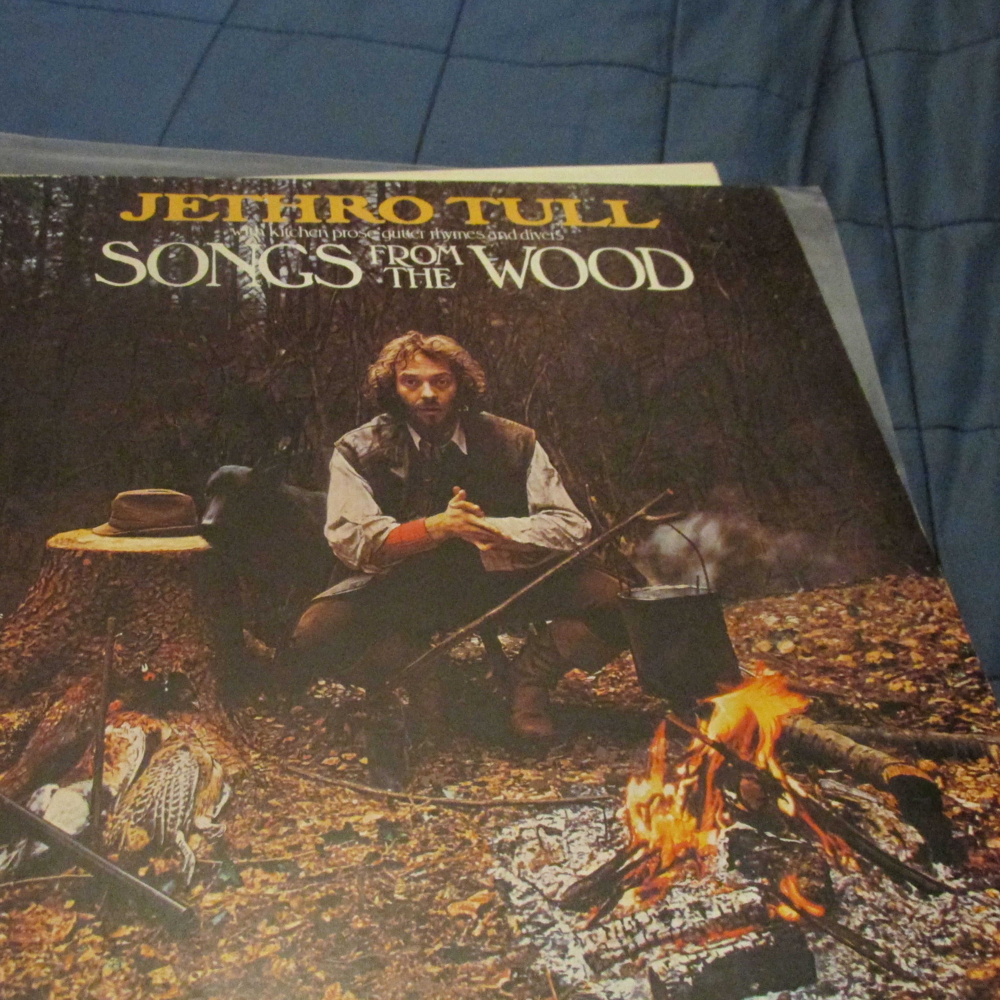 Jethro Tull Songs From The Wood LP undefined