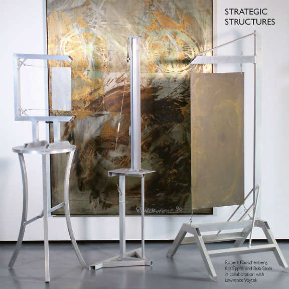 Robert Rauschenberg, Kat Epple & Bob Stohl Strategic Structures LP 2019