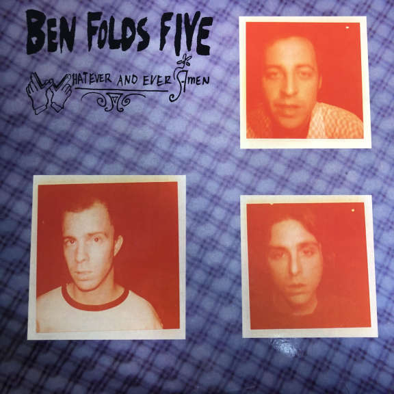 Ben Folds Five Whatever And Ever Amen LP 1997
