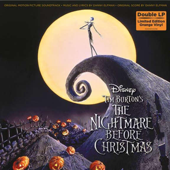 Danny Elfman Nightmare Before Christmas OST LP 2019