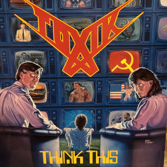 Toxik Think This LP 1989