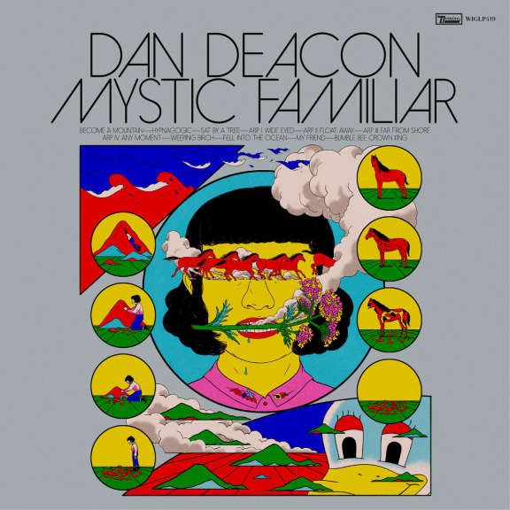 Dan Deacon Mystic Familiar (silver vinyl) LP 2020