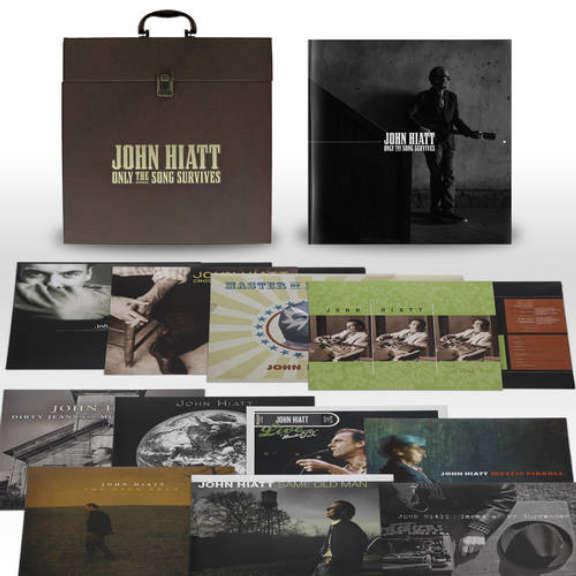 John Hiatt Only The Song Survives LP 2019