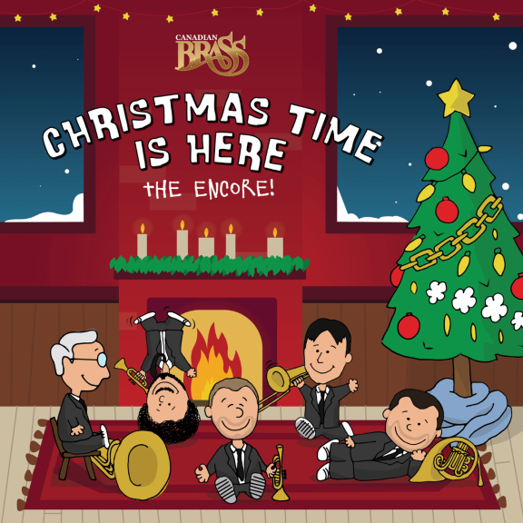 Canadian Brass Christmas Time Is Here, The Encore! Oheistarvikkeet 2019