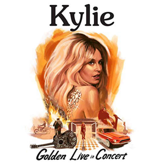 Kylie Minogue Kylie - Golden - Live in Concert  Oheistarvikkeet 2019