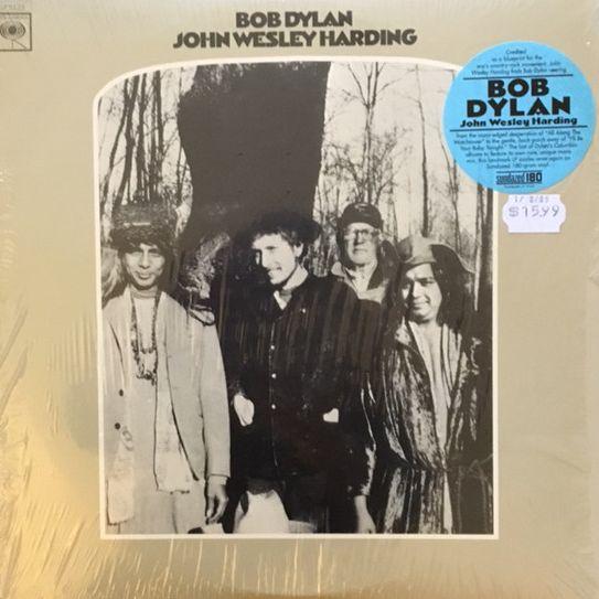 BOB DYLAN John Wesley Harding 180G [MONO] (UUSI LP) LP undefined