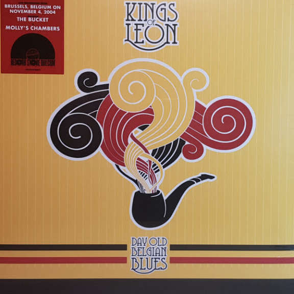 Kings Of Leon Day Old Belgian Blues LP 2019