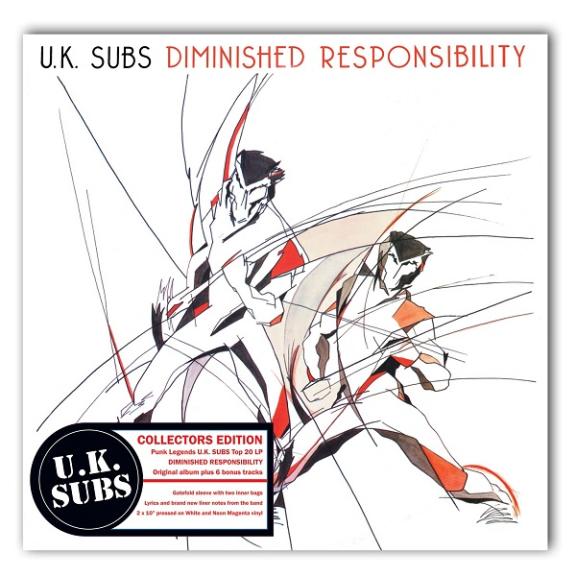 UK Subs Dimished Responsibility LP 2019