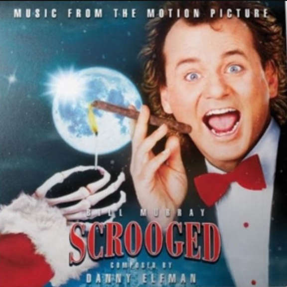 Danny Elfman Scrooged OST LP 2019