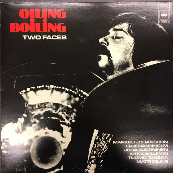 Oiling Boiling Two Faces LP 1977