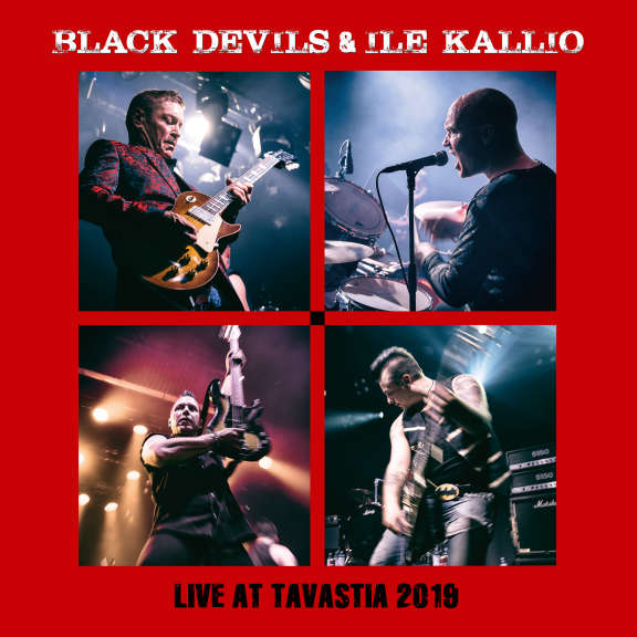 Black Devils & Ile Kallio  Live At Tavastia 2019 LP 2020