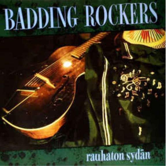 Badding Rockers Rauhaton sydän (Limited solid blue vinyl) LP 2020