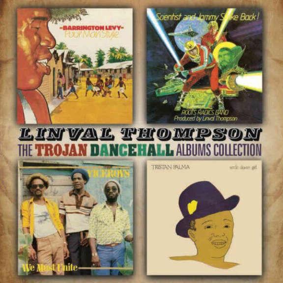 Various THE LINVAL THOMPSON TROJAN DANCEHALL ALBUMS COLLECTION: FOUR ORIGINAL ALBUMS Oheistarvikkeet 2020