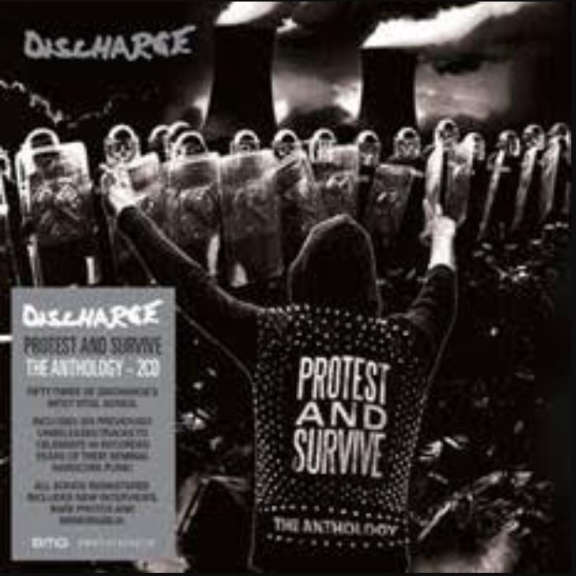 Discharge Protest and Survive : The Anthology LP 2020