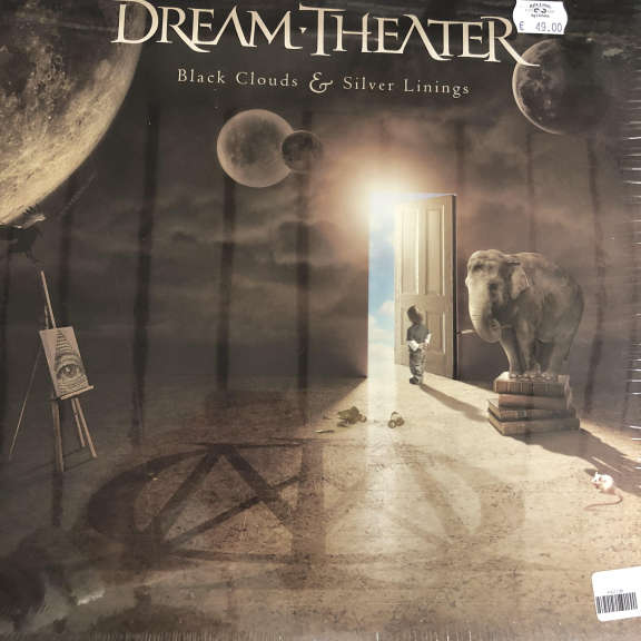 Dream Theater Black Clouds & Silver Linings LP 2009