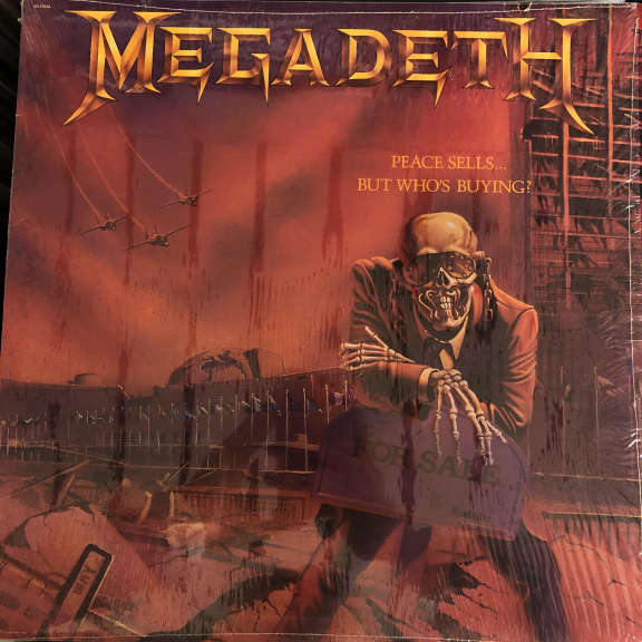 Megadeth Peace Sells... But Who's Buying?  LP 1986