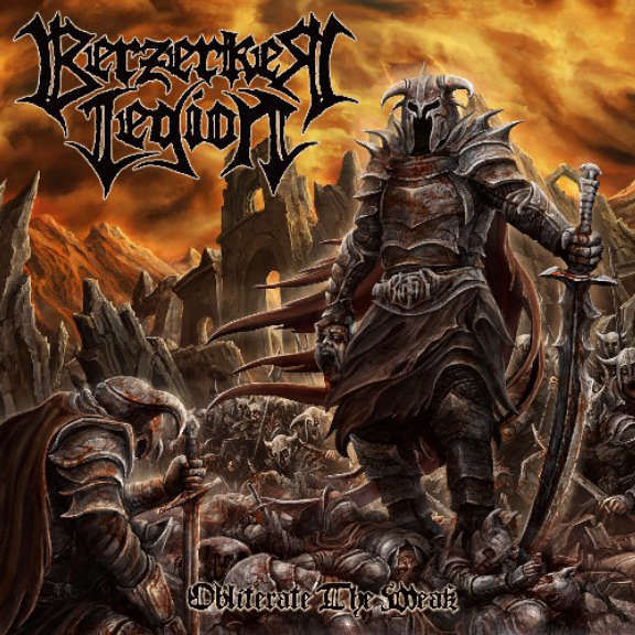 Berzerker Legion Obliterate the Weak LP 2020