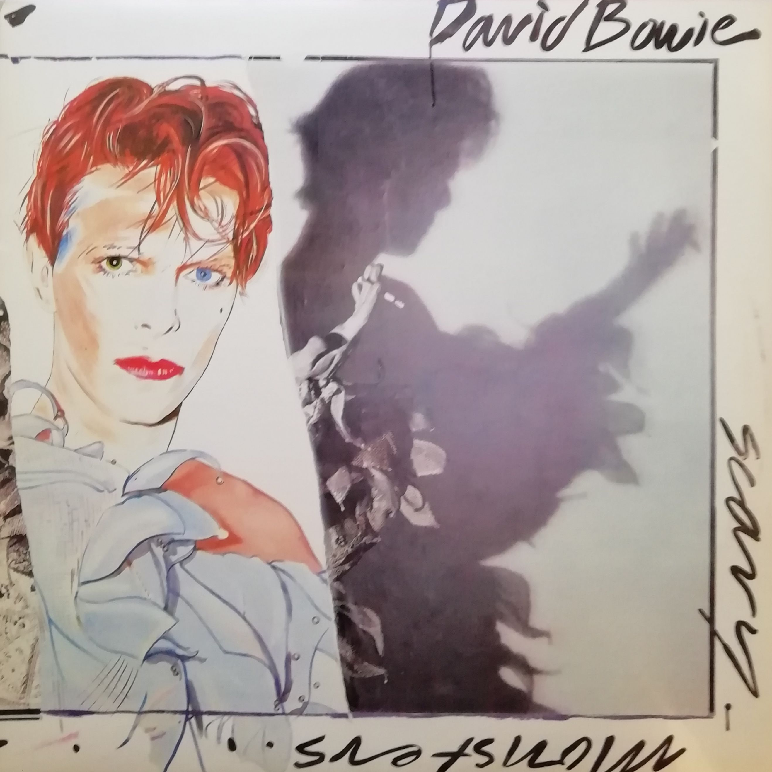David Bowie Scary Monsters LP undefined
