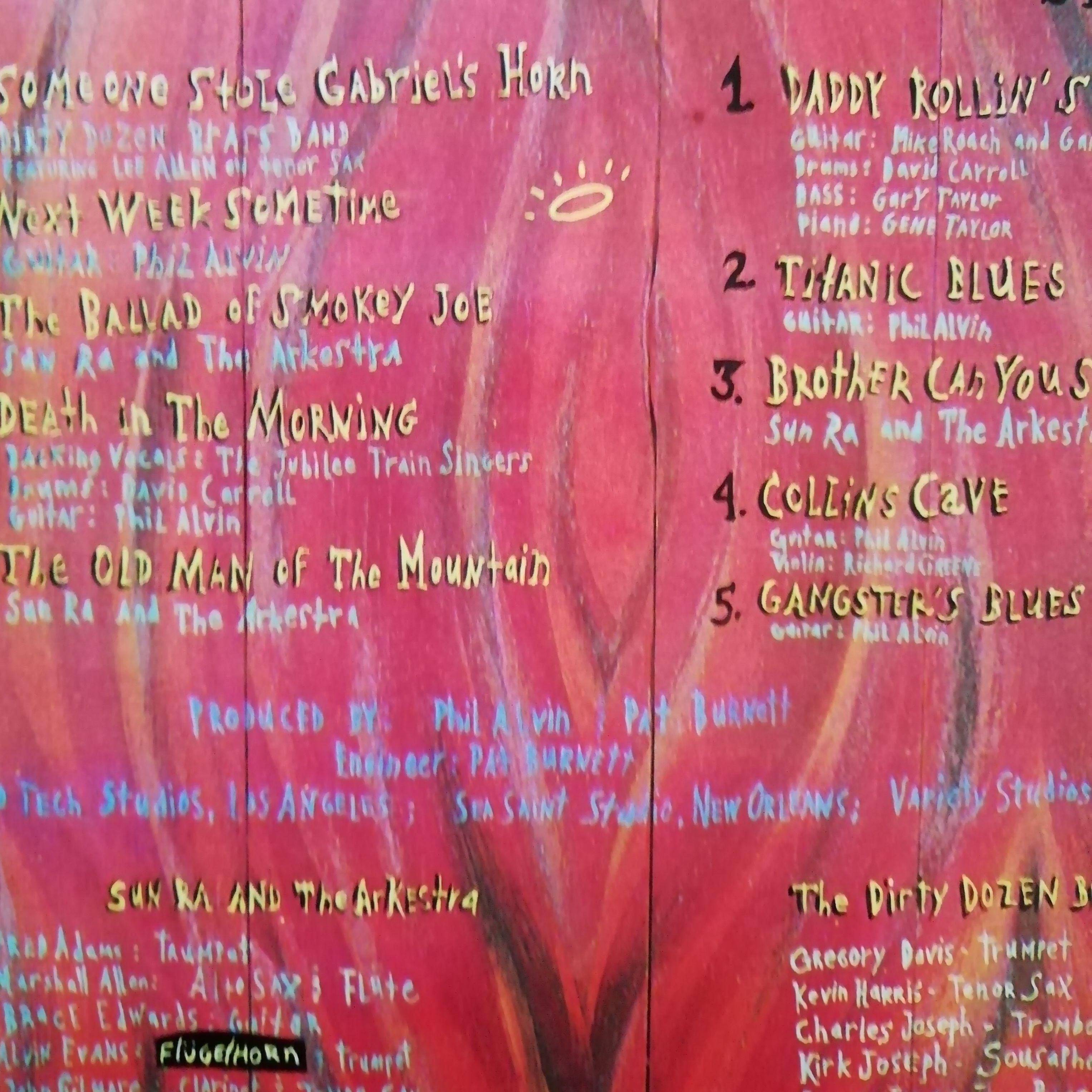 """Phil Alvin Un """"Sung Stories"""" LP undefined"""