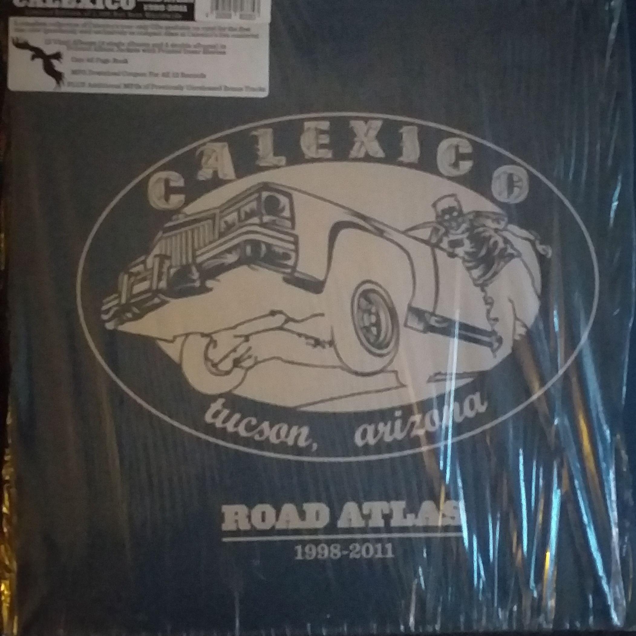 Calexico  Road atlas 1998-2011 LP undefined
