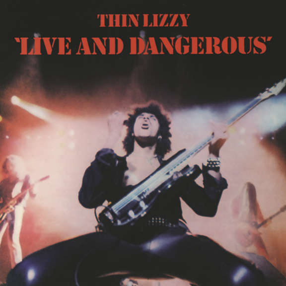 Thin Lizzy Live and Dangerous LP 2020