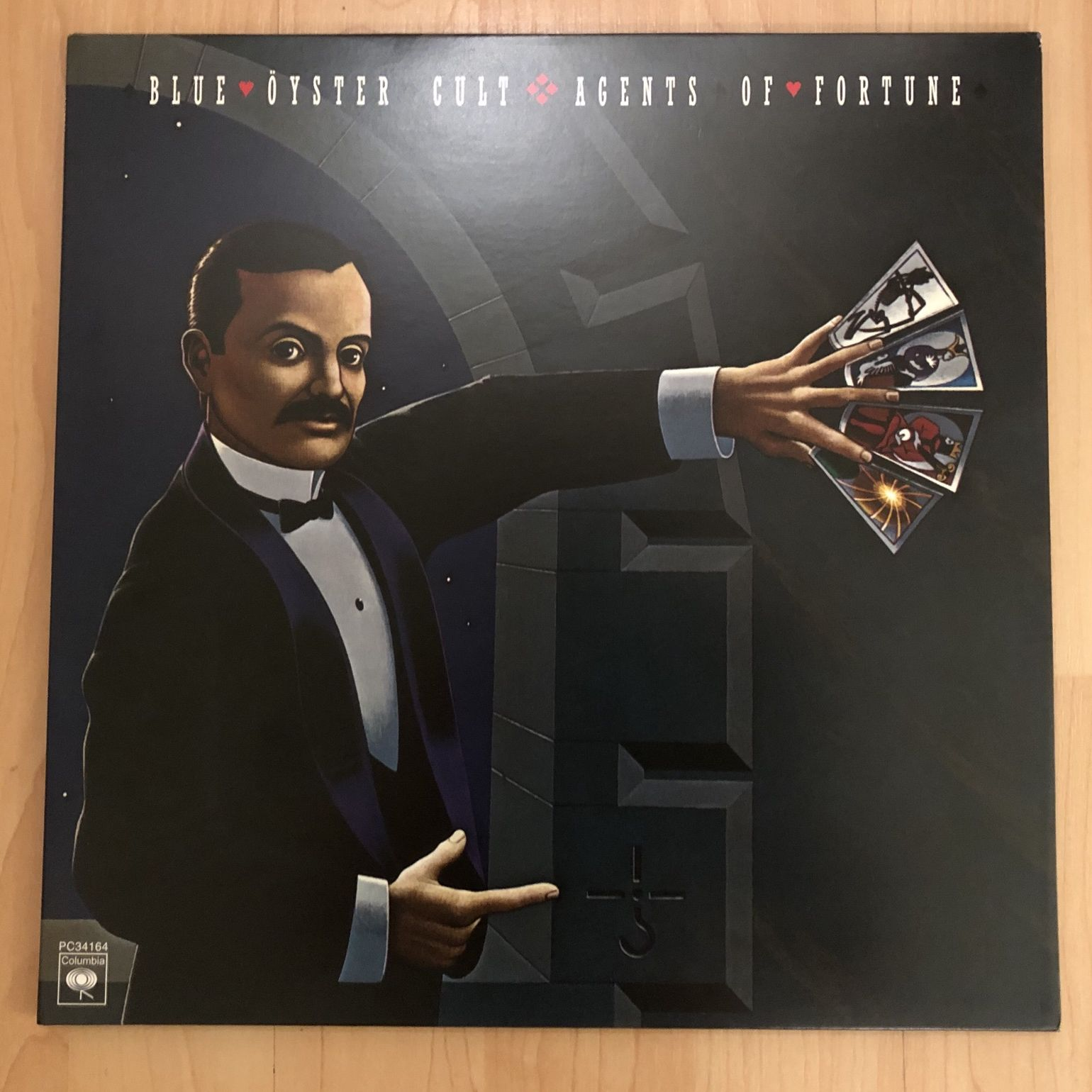 Blue Öyster Cult Agents of Fortune LP undefined