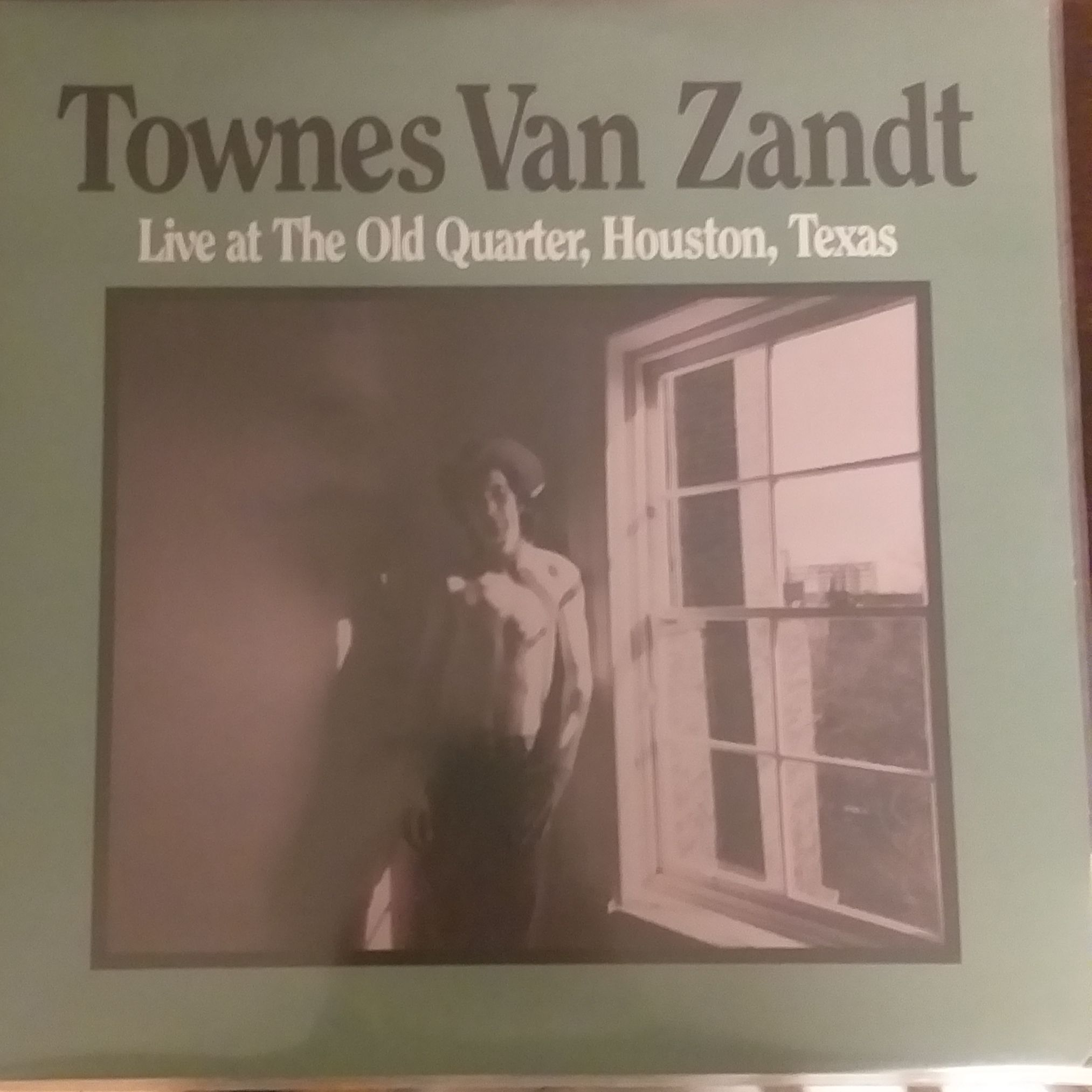 Townes Van Zandt Live at the old quarter,Houston,Texas LP undefined