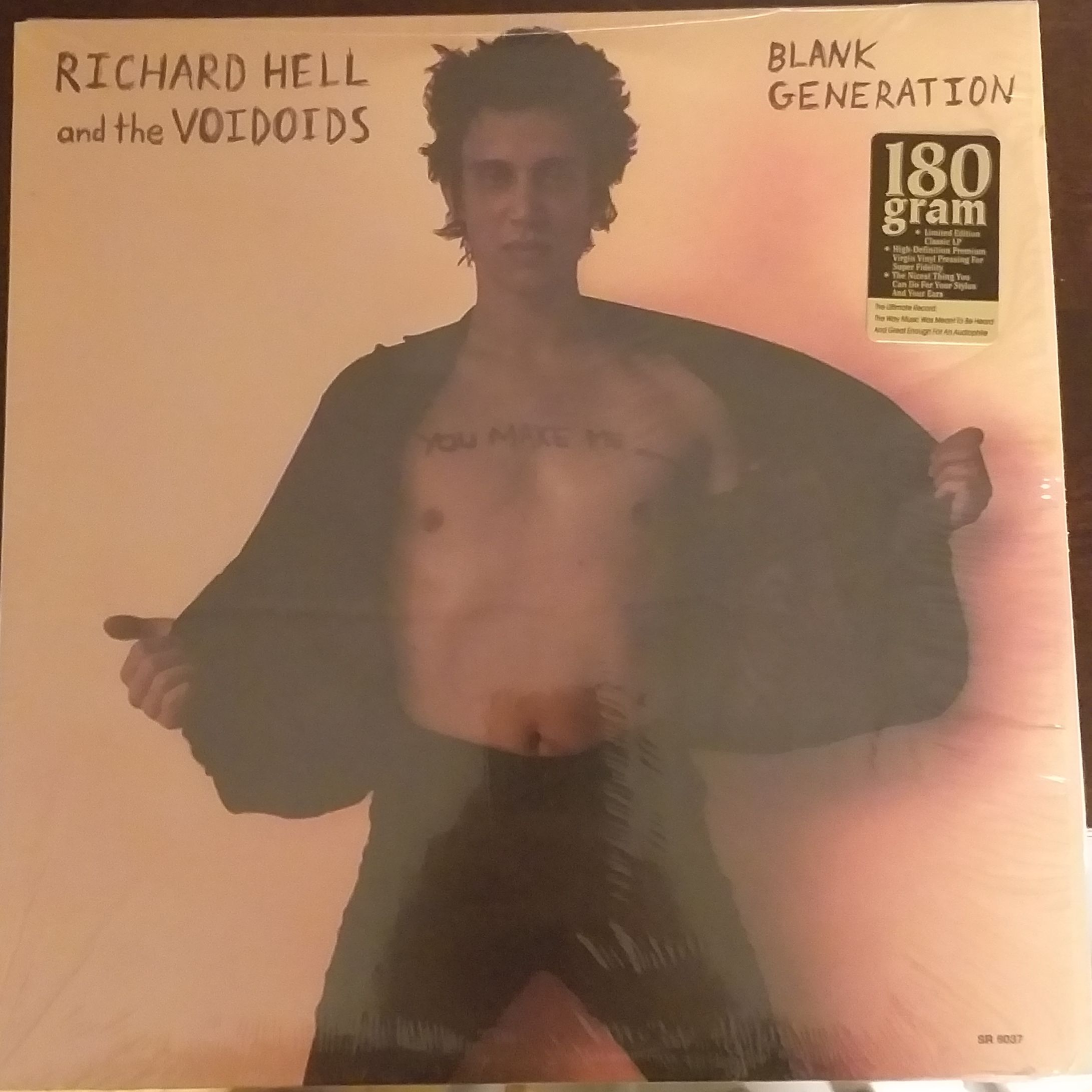 Richard Hell and the voidoids Blank generation LP undefined