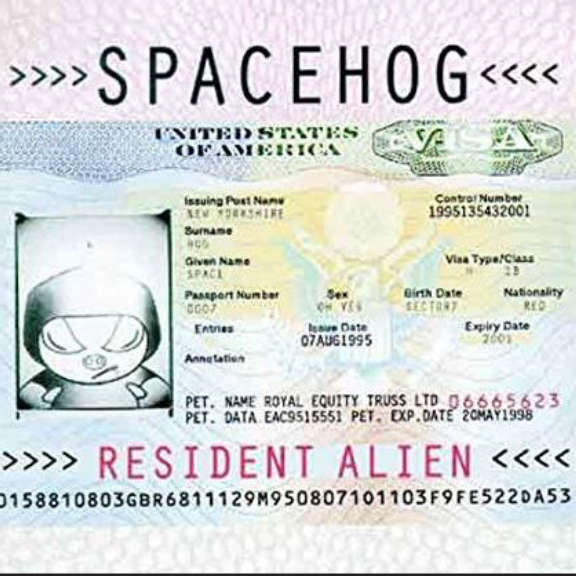 Spacehog Resident Alien (cream color) LP 2020