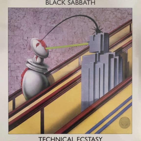 Black Sabbath Technical Ecstasy LP 0