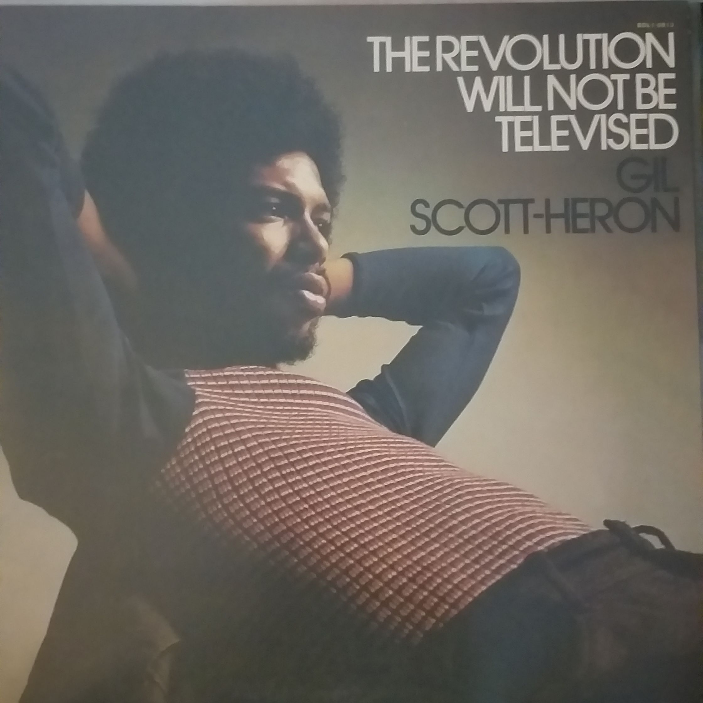 Gil Scott-Heron The revolution will not be televised LP undefined