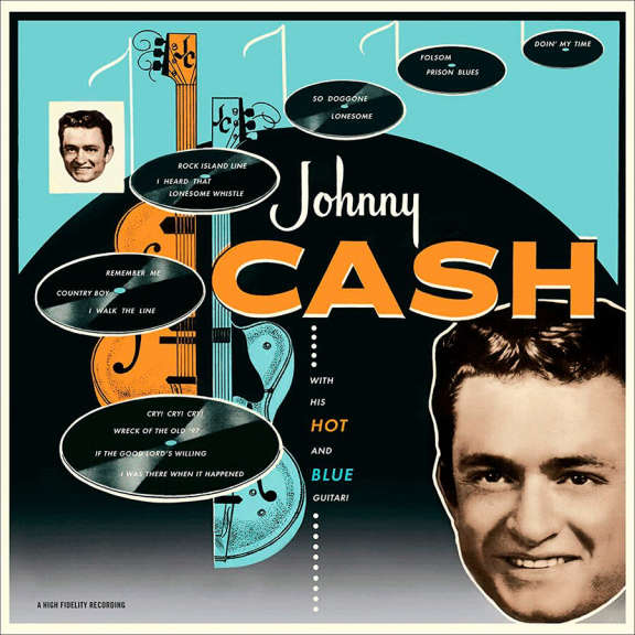 Johnny Cash Johnny Cash with His Hot and Blue Guitar!   LP 2020